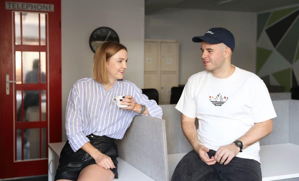 Sonia i Filip rozmawiają - Kiwwwi - tworzenie stron WWW